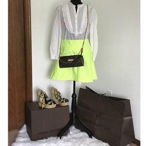J.Crew Mini Skirt with zipper